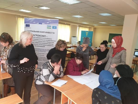 Фото с 7го семинара проекта АГРОКОМП в городе Талгар