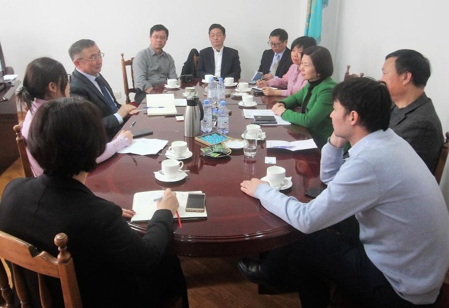 Визит делегации провинции Хунань, КНР 18 декабря 2019г.